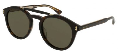 Gucci GG0124S Sunglasses - Black / Grey