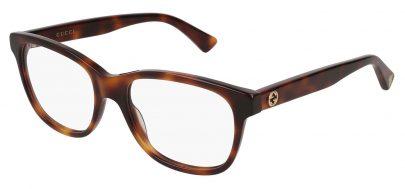 Gucci GG0166O Glasses - Avana