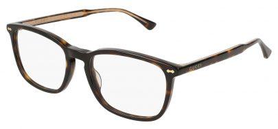 Gucci GG0188O Glasses - Avana