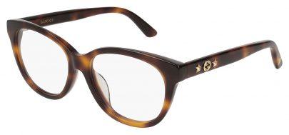Gucci GG0211OA Glasses - Avana