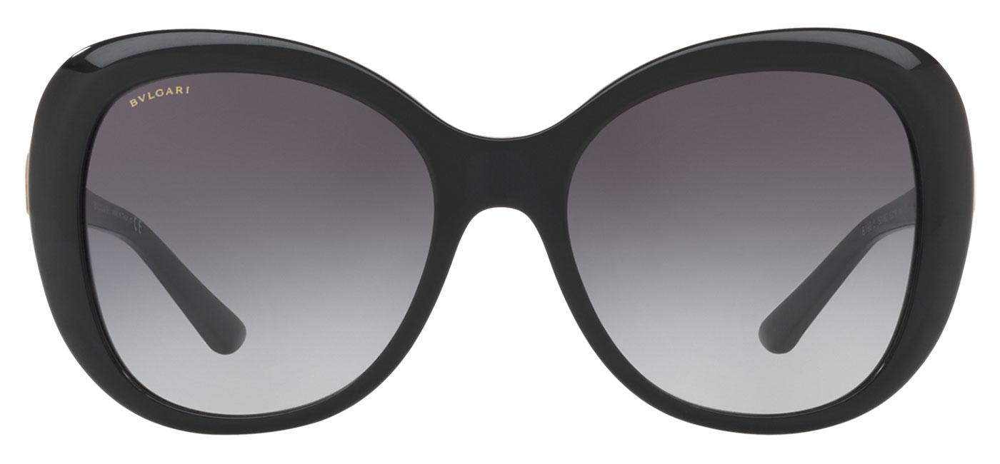 5efb0fe43b0 Bvlgari BV8199B Sunglasses. Frame  Black   Matte Pink Gold. Lens  Grey  Gradient