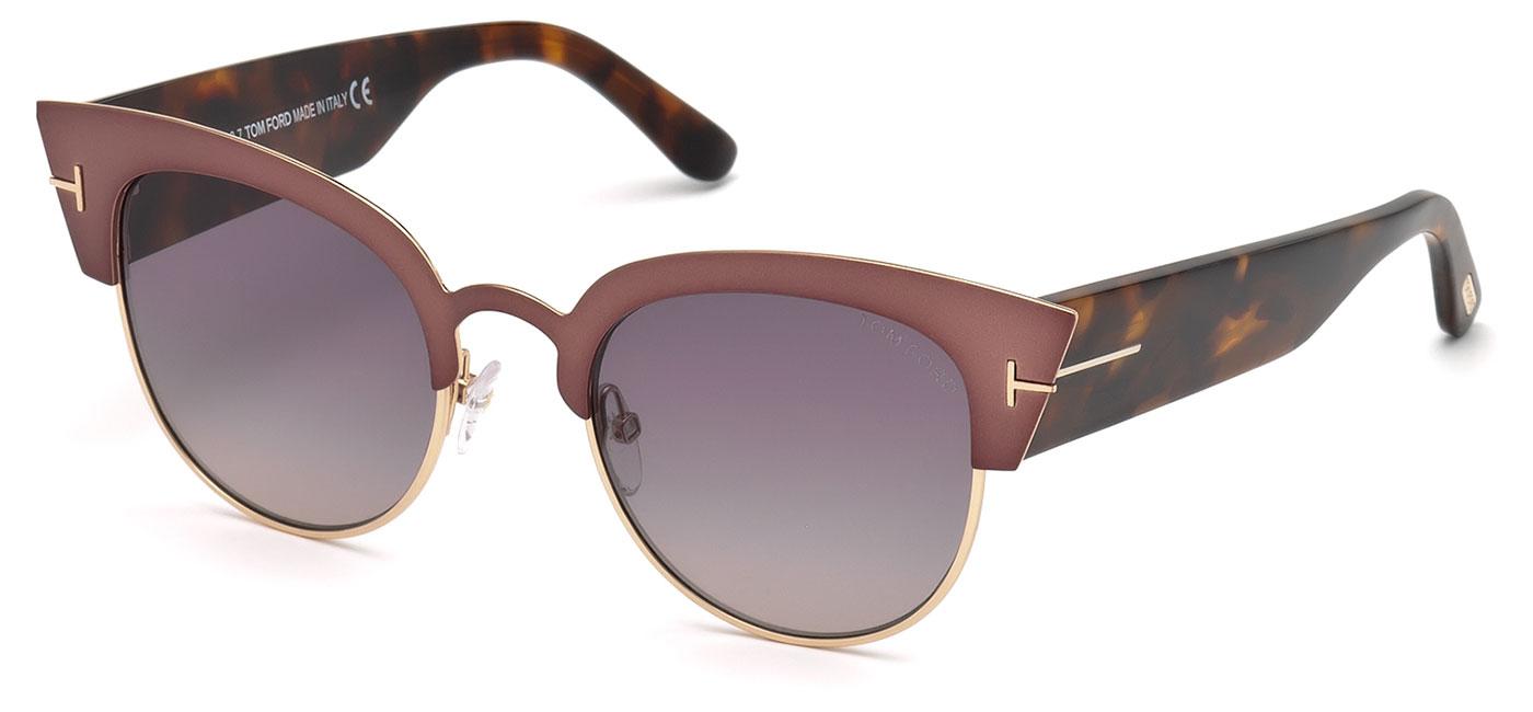 9b70f17a55 ... Tom Ford FT0607 Alexandra Sunglasses – Pink   Havana   Gradient Smoke.  prev. next. FT0607-74B product1