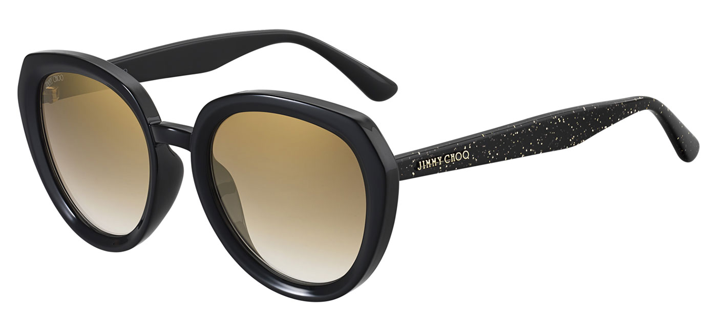 52b9022e8b ... Sunglasses – Black   Gold Glitter   Brown Gradient with Gold Mirror.  MACES-0AE2JL product1