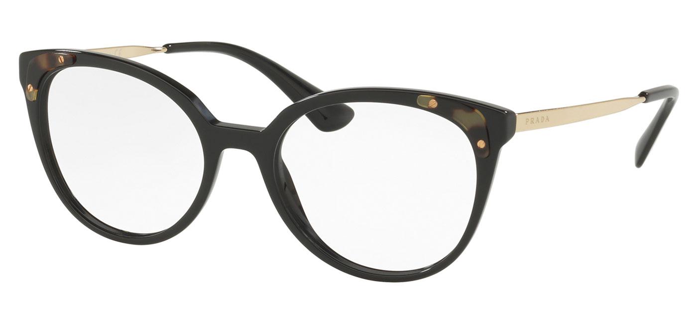 efad4a713751c Prescription Glasses   Prada Glasses   Prada PR12UV Glasses – Black.  PR12UV-1AB1O1 product1