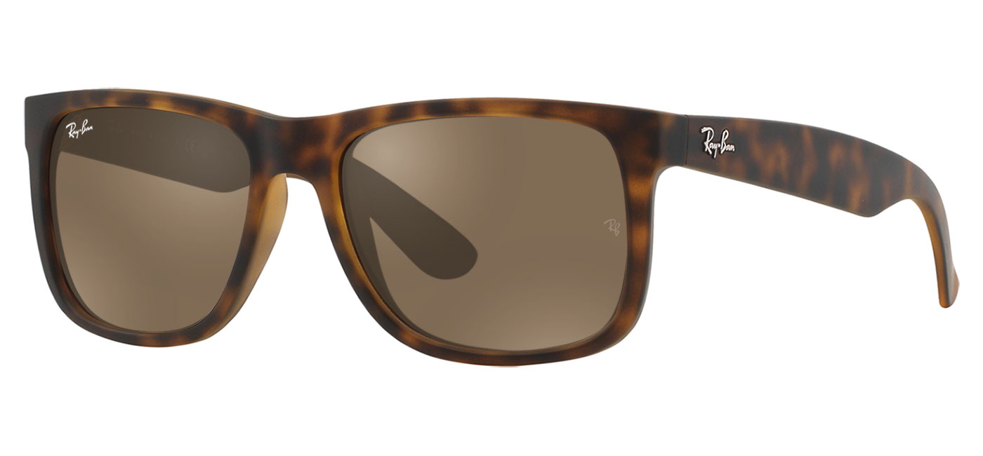 63f69efec7c ... Ray-Ban RB4165 Justin Prescription Sunglasses – Tortoise Rubber. prev.  next. B-15 Brown