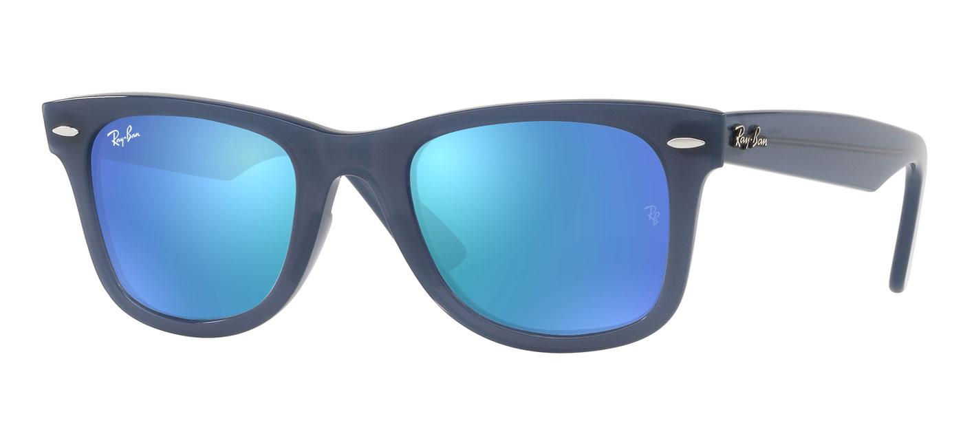 248739b41d ... Ray-Ban RB4340 Wayfarer Ease Prescription Sunglasses – Blue. prev.  next. blue-flash