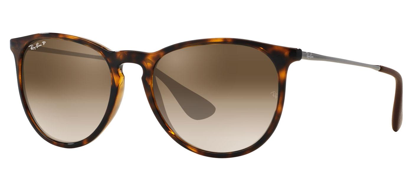 c4beca493f Ray-Ban RB4171 Erika Prescription Sunglasses - Tortoise - Tortoise+Black
