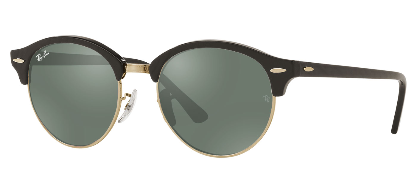 a50c43c2d4 ... Ray-Ban RB4246 Clubround Prescription Sunglasses – Black. prev. next.  g15
