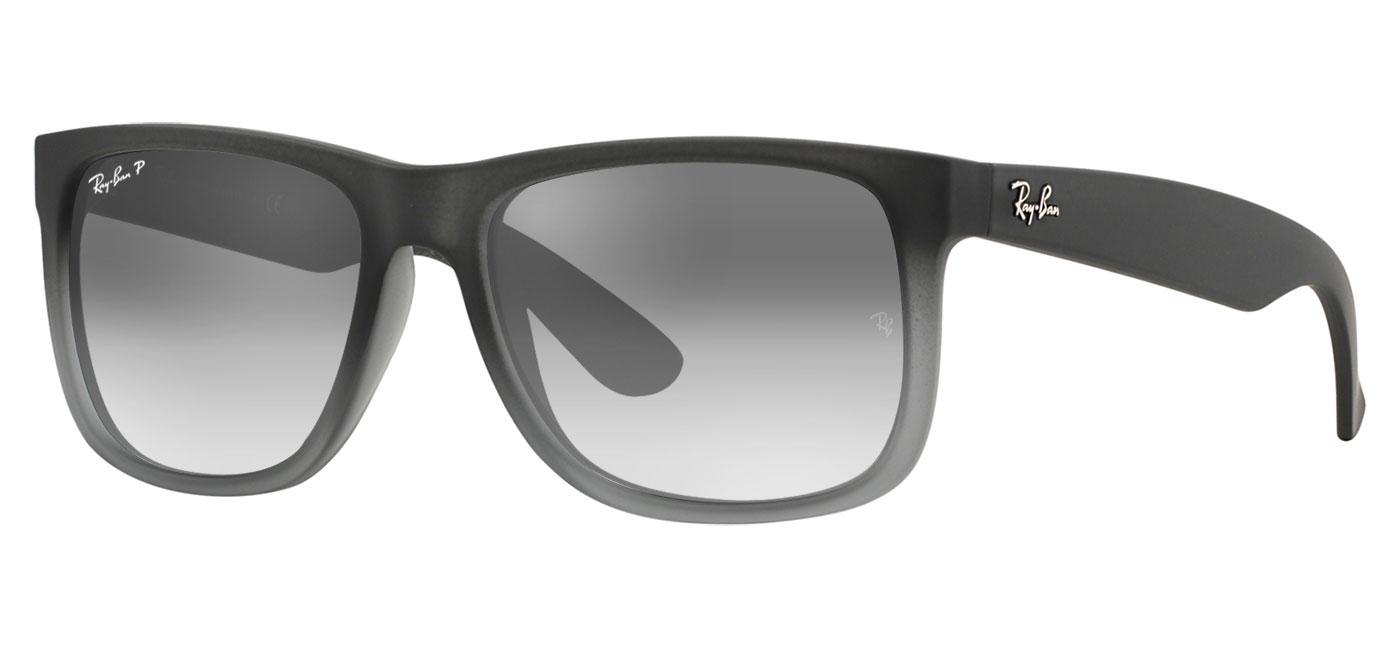 274b1c15ea Grey Gradient Polarised · Ray-Ban RB4165 Justin Prescription Sunglasses – Shiny  Black 2