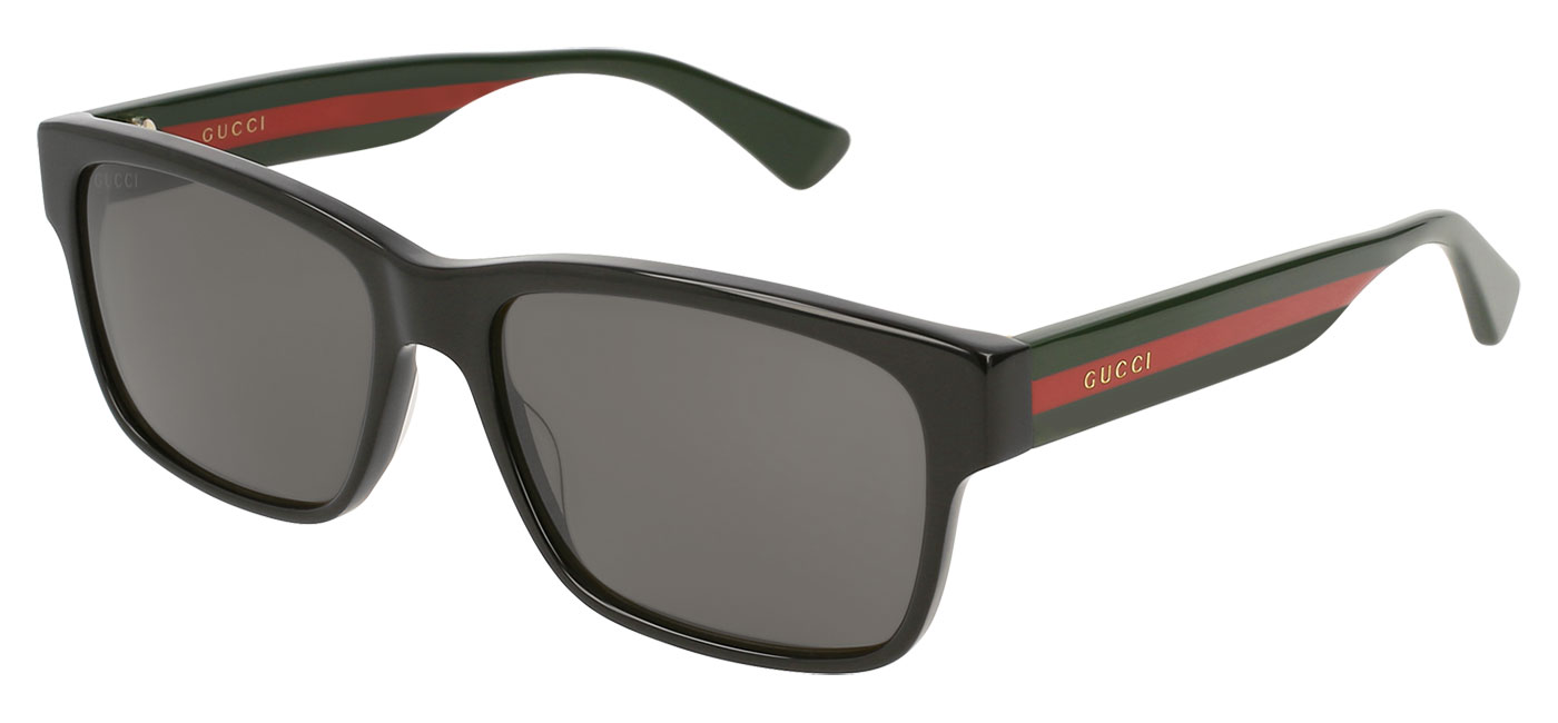 1e3b3fe2e750b ... Gucci GG0340S Prescription Sunglasses – Black   Grey Polarised. prev.  next. GG0340S-007 product1