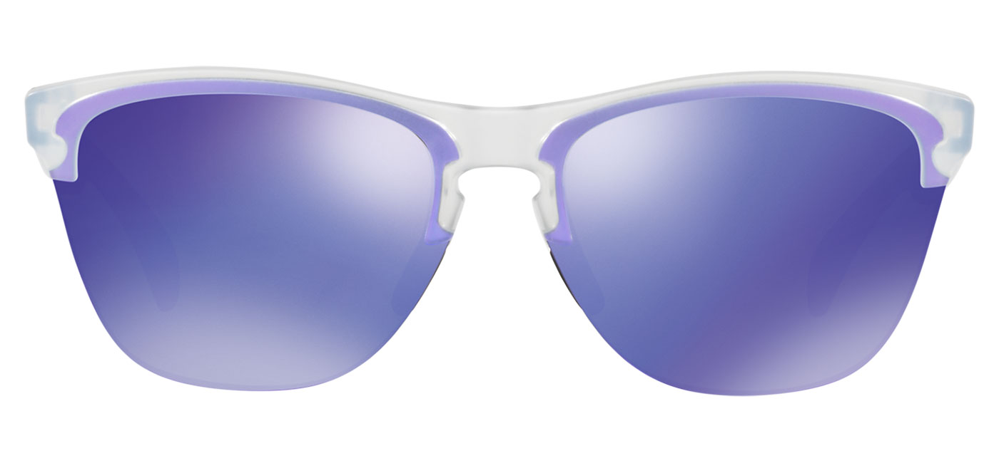 1676c904146 ... Oakley Frogskins Lite Sunglasses – Matte Clear   Violet Iridium. prev.  next. OO9374-03 product1. OO9374-03 product2