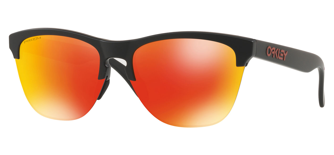 85d06c222e5 ... Oakley Frogskins Lite Sunglasses – Matte Black   Prizm Ruby. prev.  next. OO9374-04 product1
