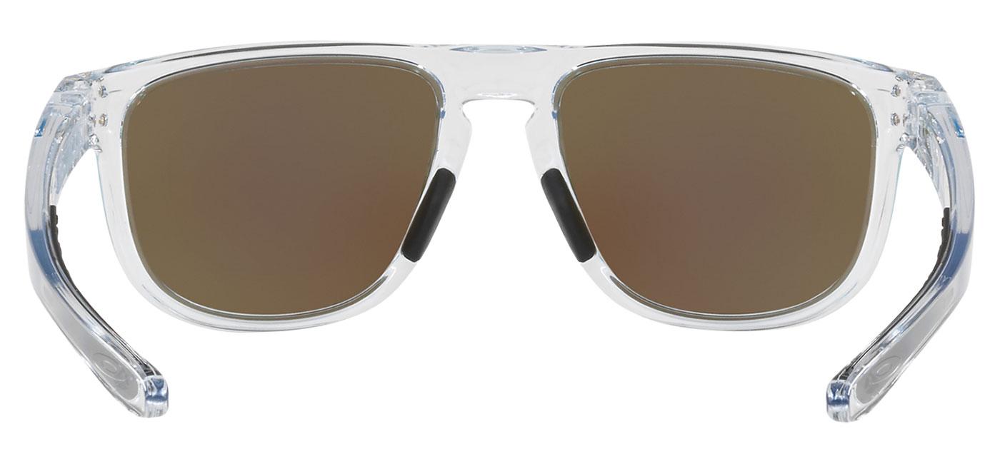 e76f58a74829d Oakley Holbrook R Sunglasses - Clear   Prizm Sapphire - Tortoise+Black