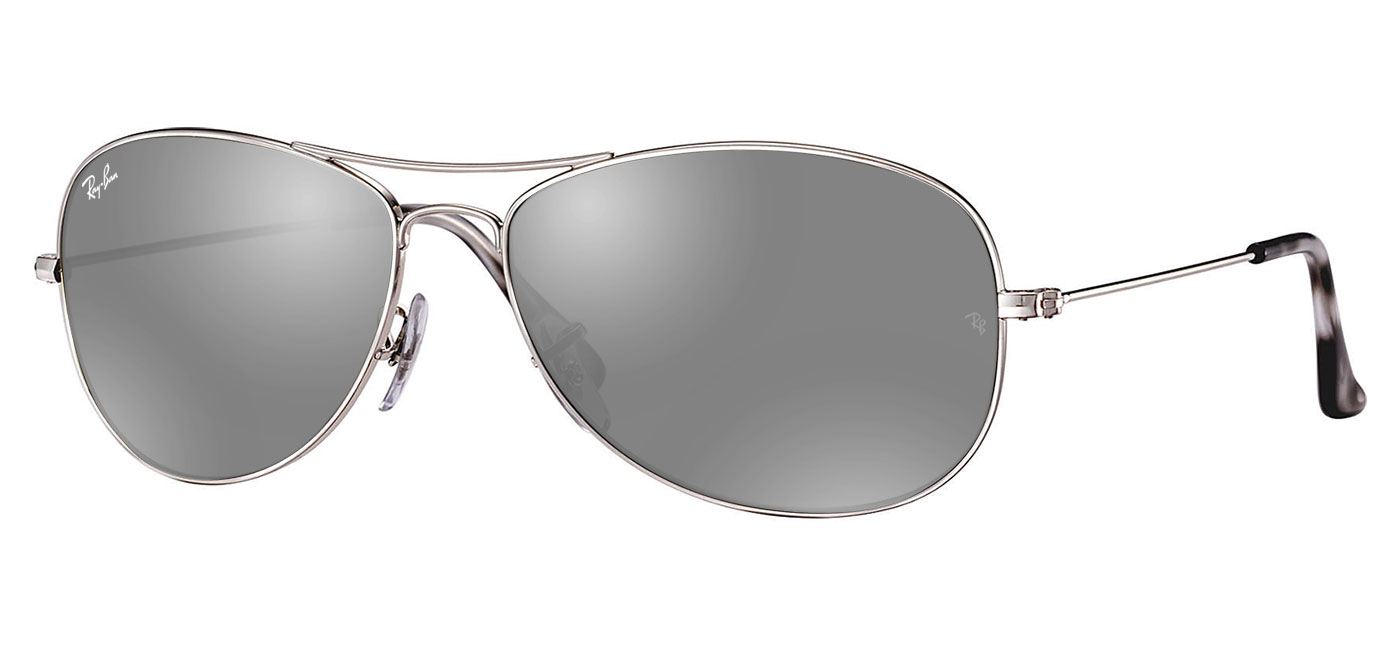 8aa0aef9f25 Ray-Ban RB3562 Prescription Sunglasses - Silver   Silver Mirror ...