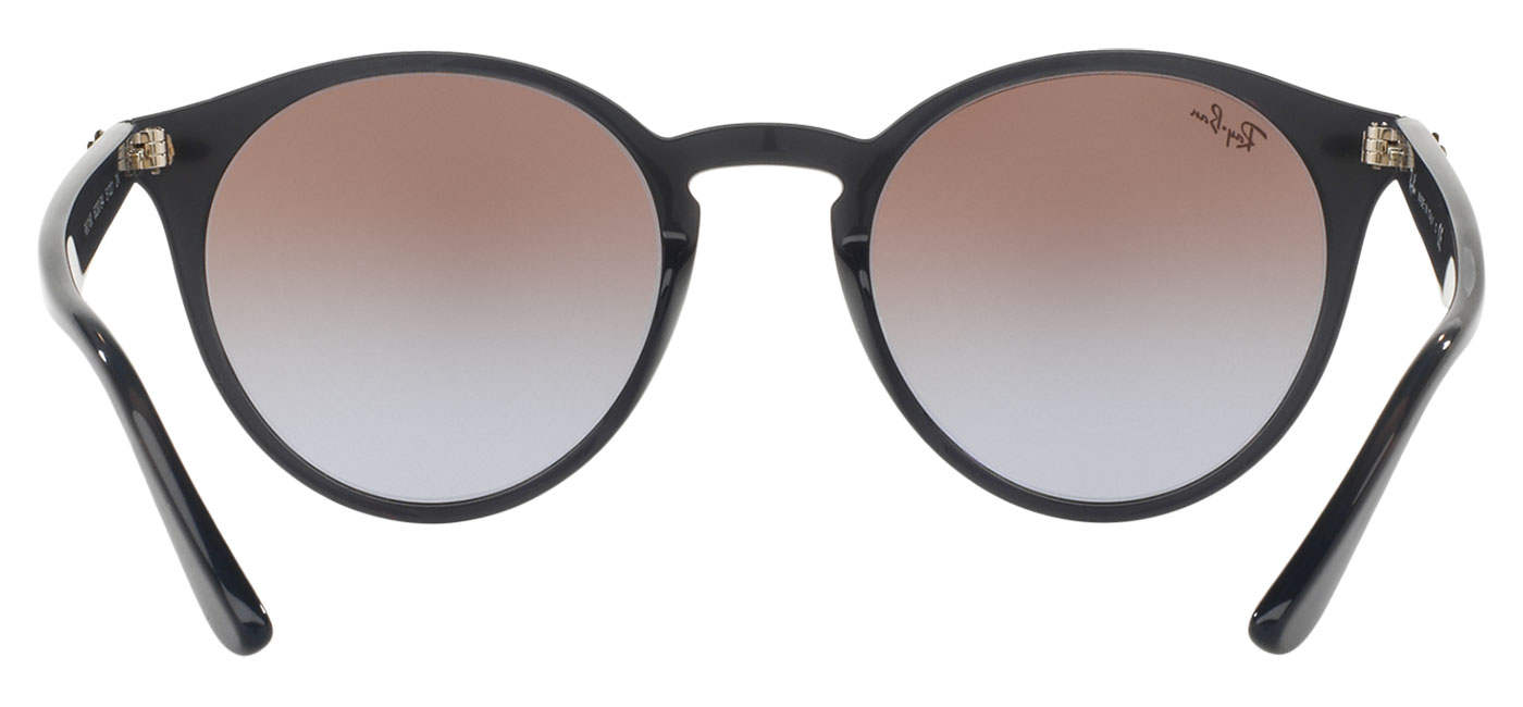 9c1d127d09 Ray-Ban RB2180 Sunglasses - Opal Grey   Brown Violet Gradient Silver ...