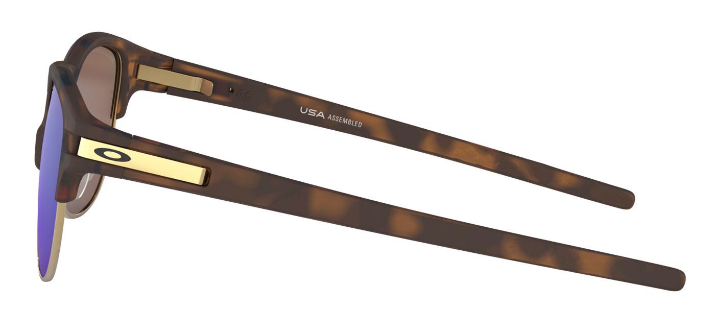 d57912240f Oakley Latch Key Sunglasses - Matte Brown Tortoise   Sapphire ...
