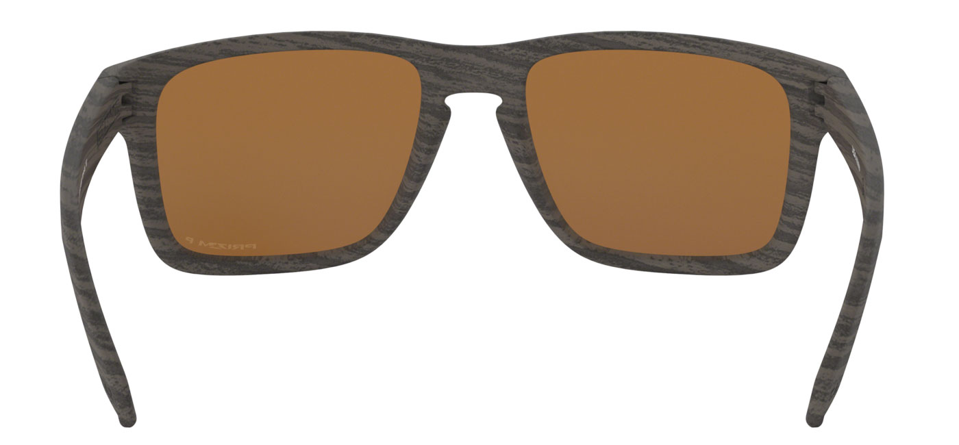 fbb1baee9bb6 Oakley Holbrook XL Sunglasses - Woodgrain / Prizm Tungsten Polarised ...