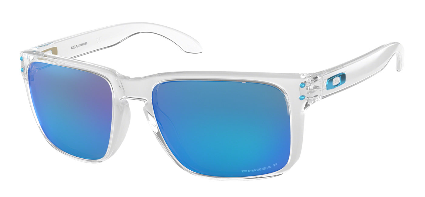 30f8280dc0 ... Oakley Holbrook XL Sunglasses – Polished Clear   Prizm Sapphire  Polarised. prev. next. OO9417 07product1