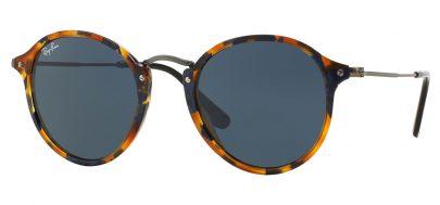 4e23306b333 Ray-Ban RB2447 Round Fleck Sunglasses - Tortoise+Black