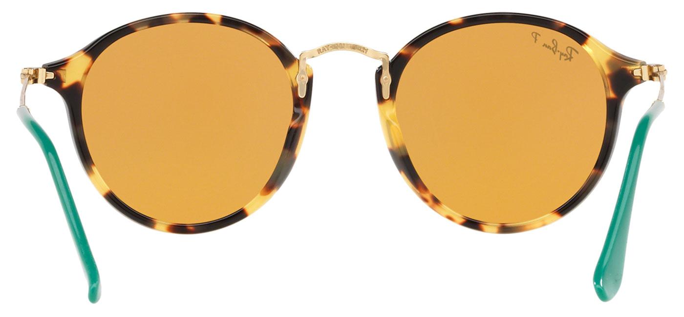 4b6ad078459 Ray-Ban RB2447 Round Fleck Sunglasses - Tortoise   Gold   Yellow ...