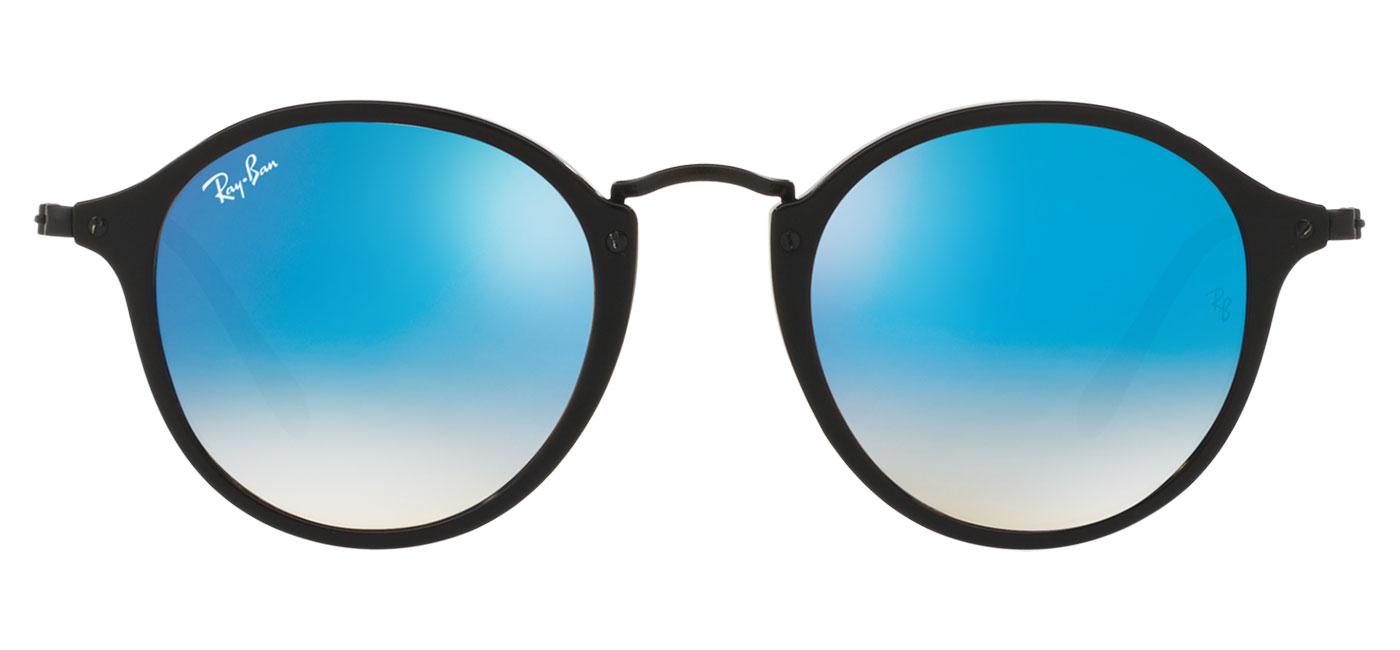 2ecd56552f9 ... Ray-Ban RB2447 Round Fleck Sunglasses – Black   Blue Gradient Flash.  prev. next. RB2447-901 4O product1. RB2447-901 4O product2