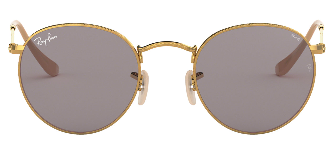 53b6ade767 Ray Ban Rb3447 Round Metal Sunglasses « One More Soul
