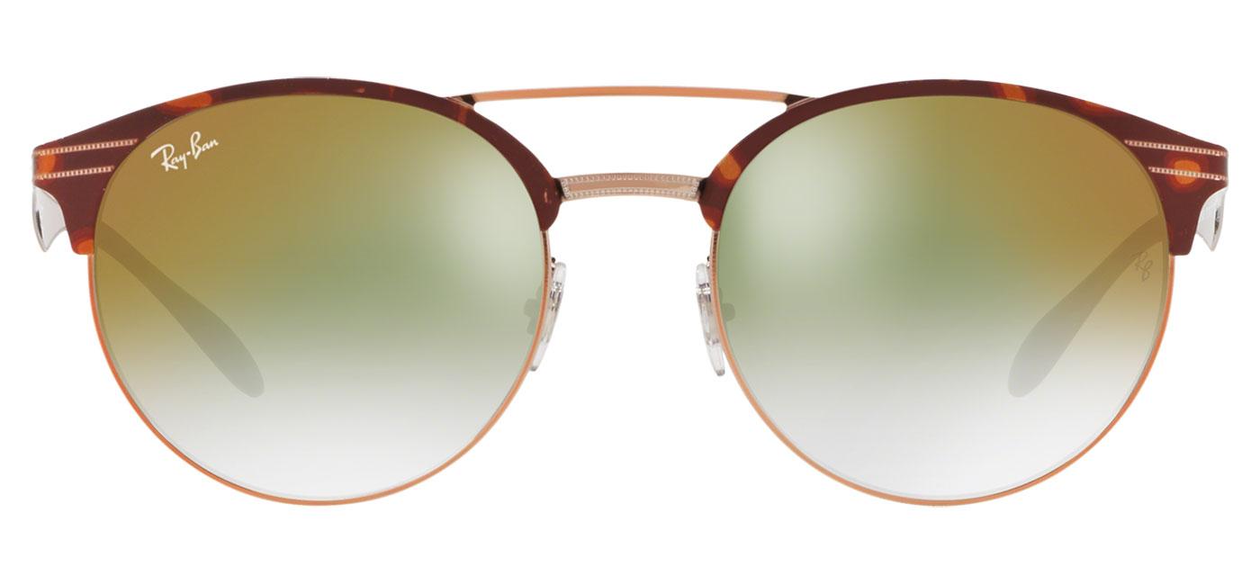 89c9fb94887 Ray-Ban RB3545 Sunglasses - Tortoise   Bronze Copper   Green ...