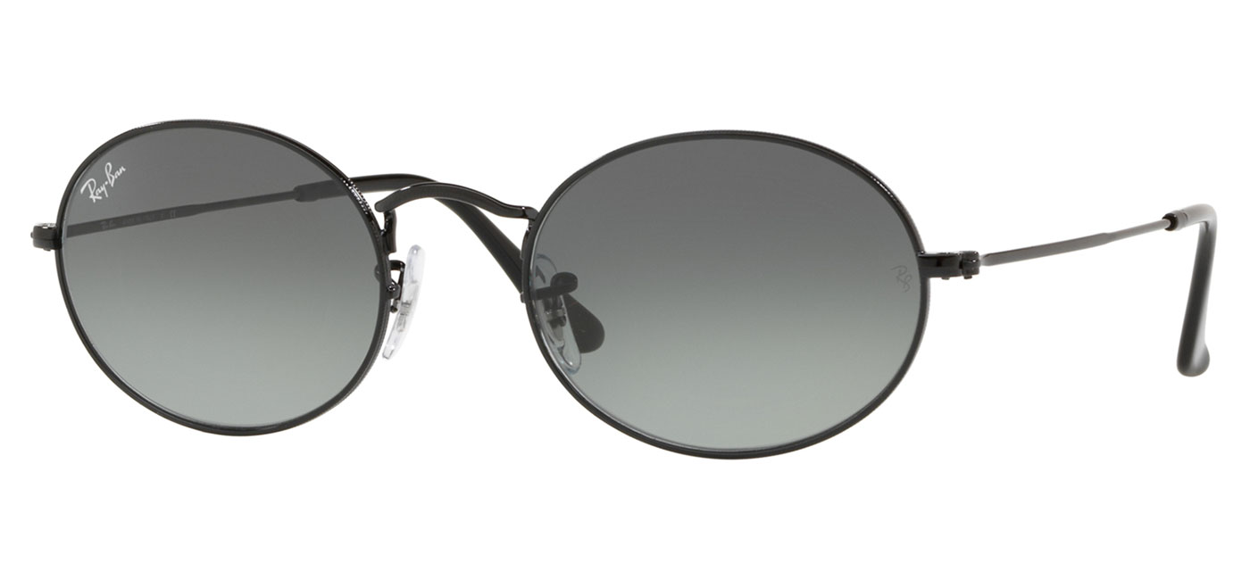 e01c7fa5ded ... Ray-Ban RB3547N Oval Flat Lens Sunglasses – Black   Grey Gradient.  prev. next. RB3547N-00271 product1