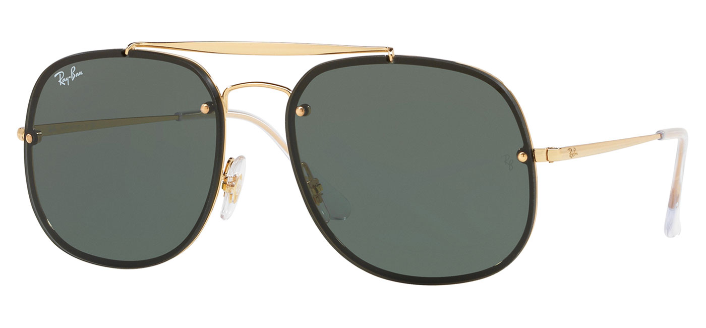484284b3338 ... Ray-Ban RB3583N Blaze General Sunglasses – Gold   Green. prev. next.  RB3583N-905071 product1