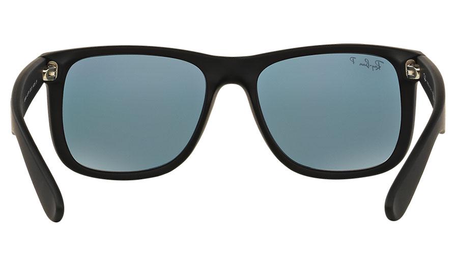 421c0750d8 RB4165-6222V product4. Ray-Ban RB4165 Justin Sunglasses – Rubberised Black    Orange Flash 4