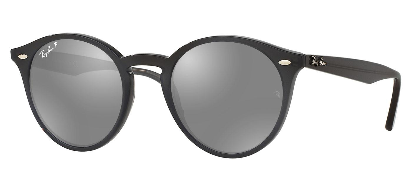 7cdb455eab Ray-Ban RB2180 Prescription Sunglasses - Opal Grey - Tortoise+Black