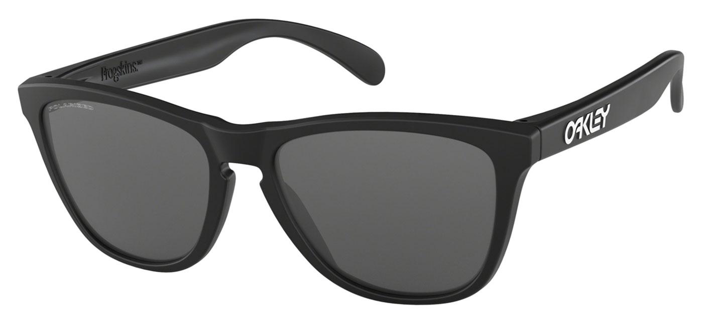 5cf276d055 ... Oakley Frogskins Sunglasses – Matte Black   Black Iridium Polarised.  prev. next. 24-297 product1