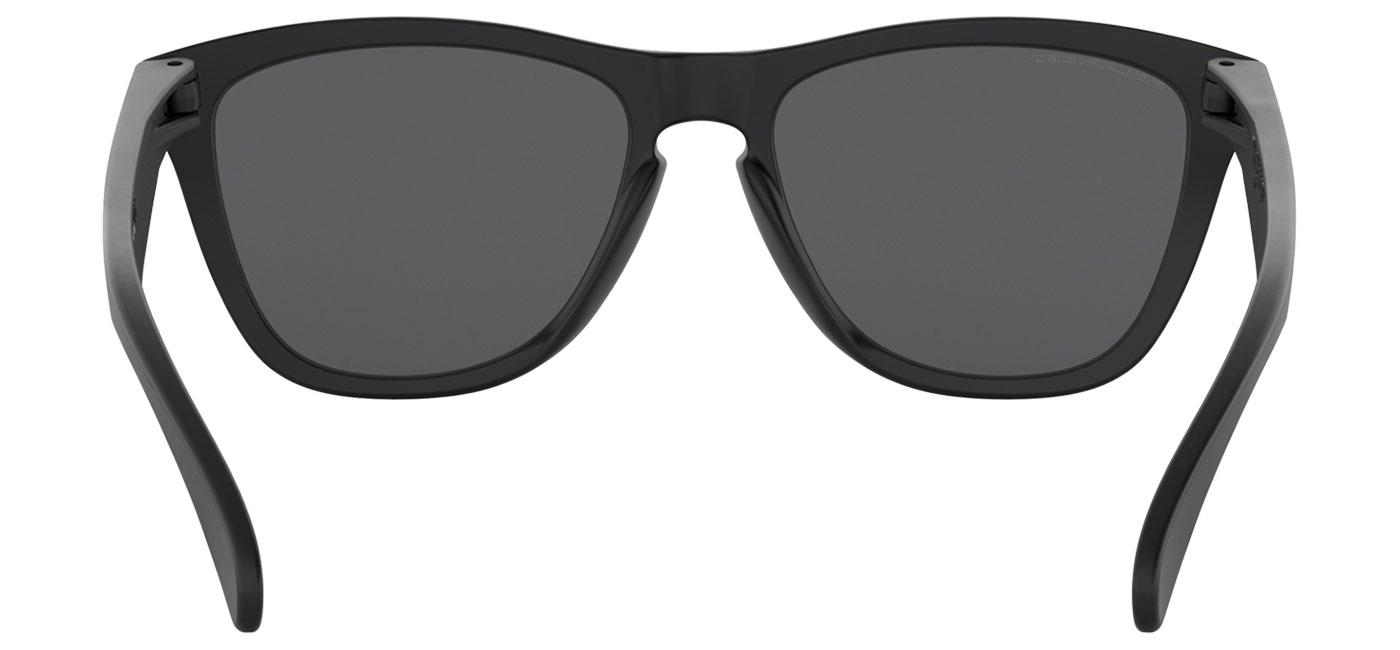 ba0785926e Oakley Frogskins Sunglasses - Matte Black   Black Iridium Polarised -  Tortoise+Black