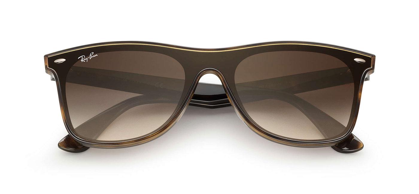 76cb21243cb5a3 Ray-Ban RB4440N Blaze Wayfarer Sunglasses - Tortoise / Brown ...
