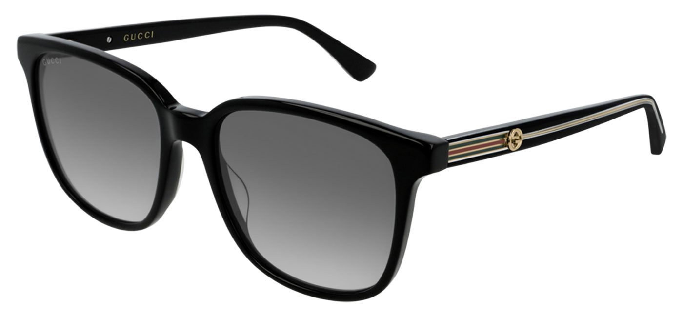ba07e8e93c1c1 ... Gucci GG0376S Prescription Sunglasses – Black   Grey Gradient. prev.  next. GG0376S-001