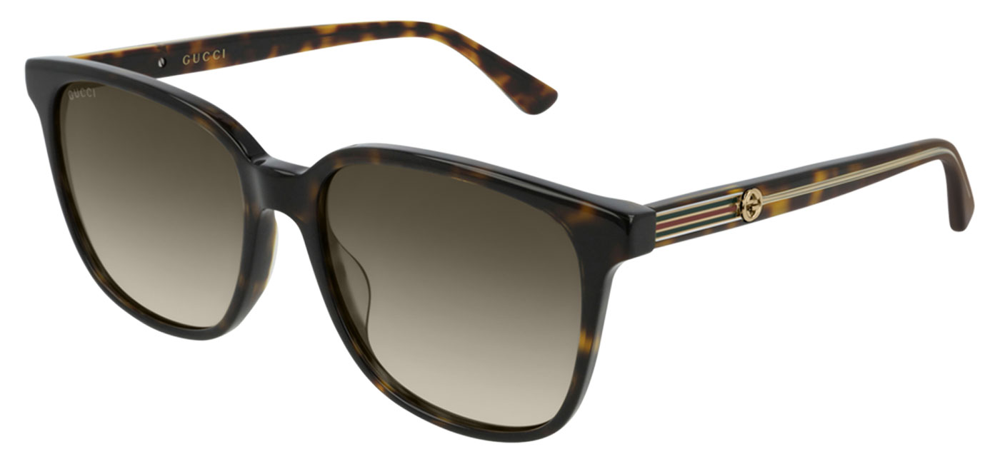 83fb23a6f2cf3 ... Gucci GG0376S Sunglasses – Havana   Brown Gradient. prev. next.  GG0376S-002