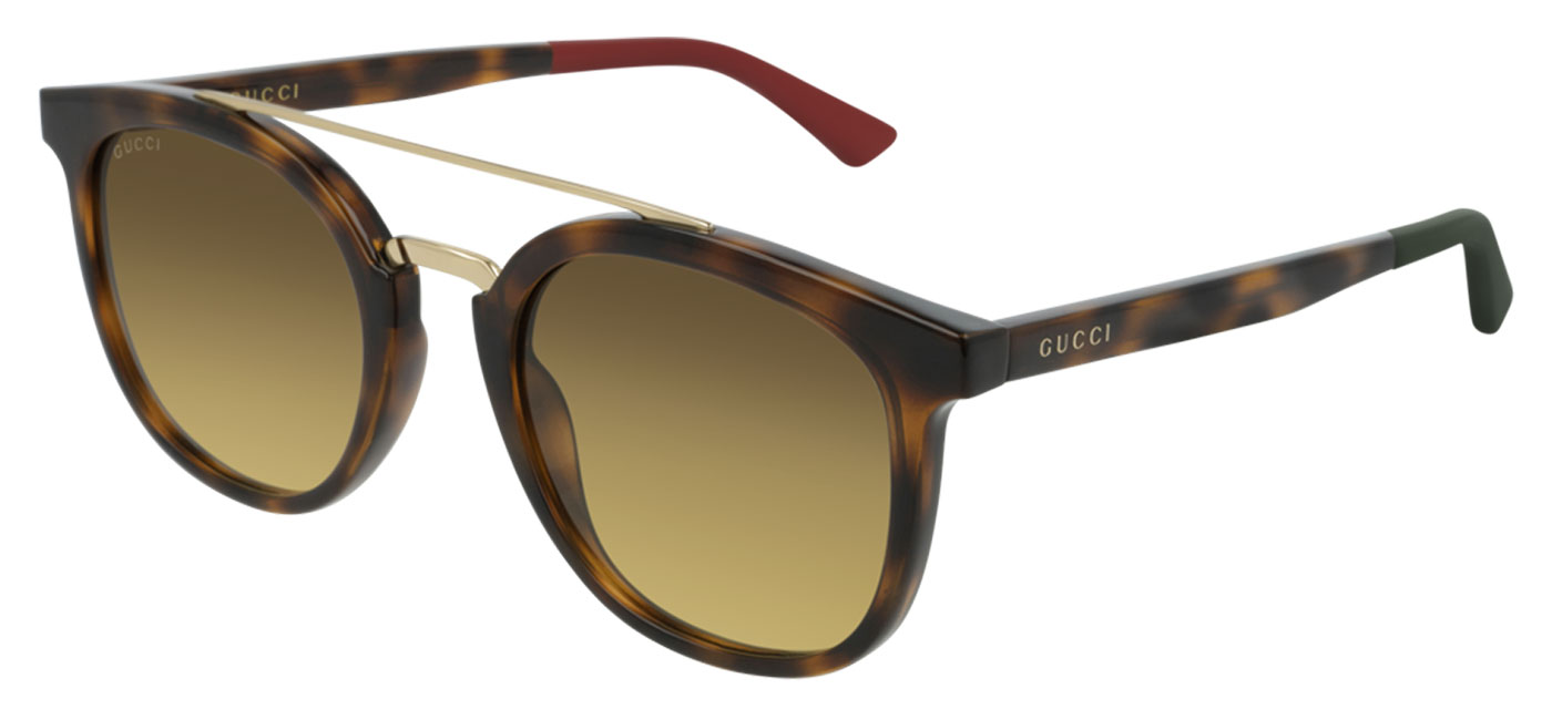 339c8572dea8d Gucci GG0403S Sunglasses - Havana   Brown Gradient - Tortoise+Black