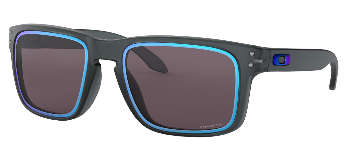 1754010406 ... Oakley Holbrook Sunglasses – Fire and Ice Collection Matte Crystal Black    Prizm Grey Sapphire Alt Iridium. prev. next. 0OO9102  9102G9 030A