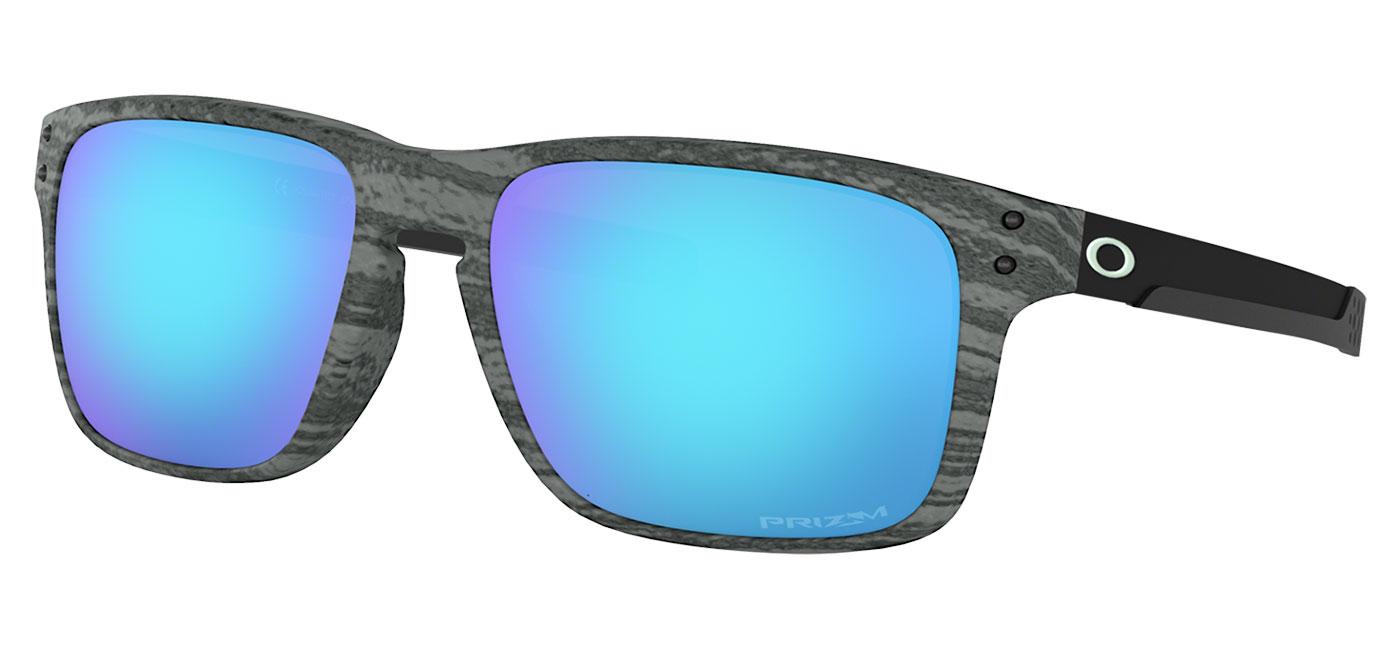 a82cb211b5 Oakley Holbrook Mix Sunglasses - Woodstain Collection Frostwood   Prizm  Sapphire - Tortoise+Black