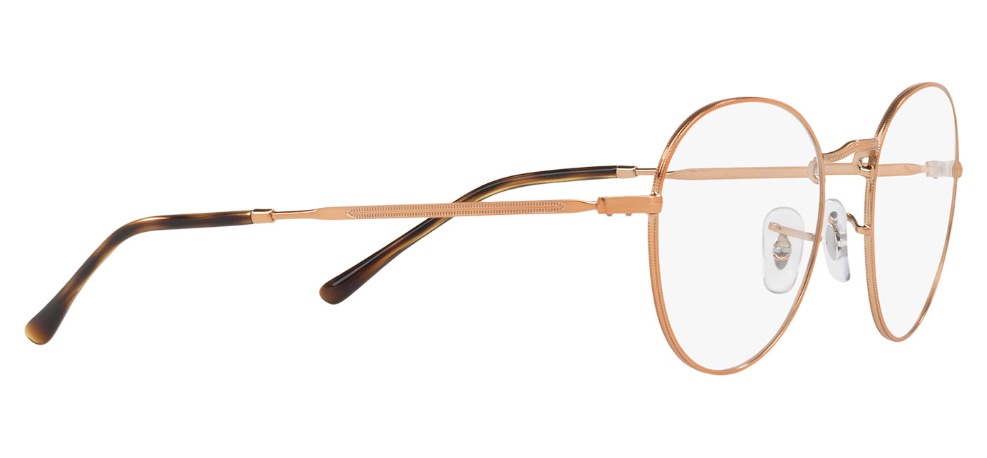 7d276e86ec Ray-Ban RB3582V Glasses - Copper - Tortoise+Black