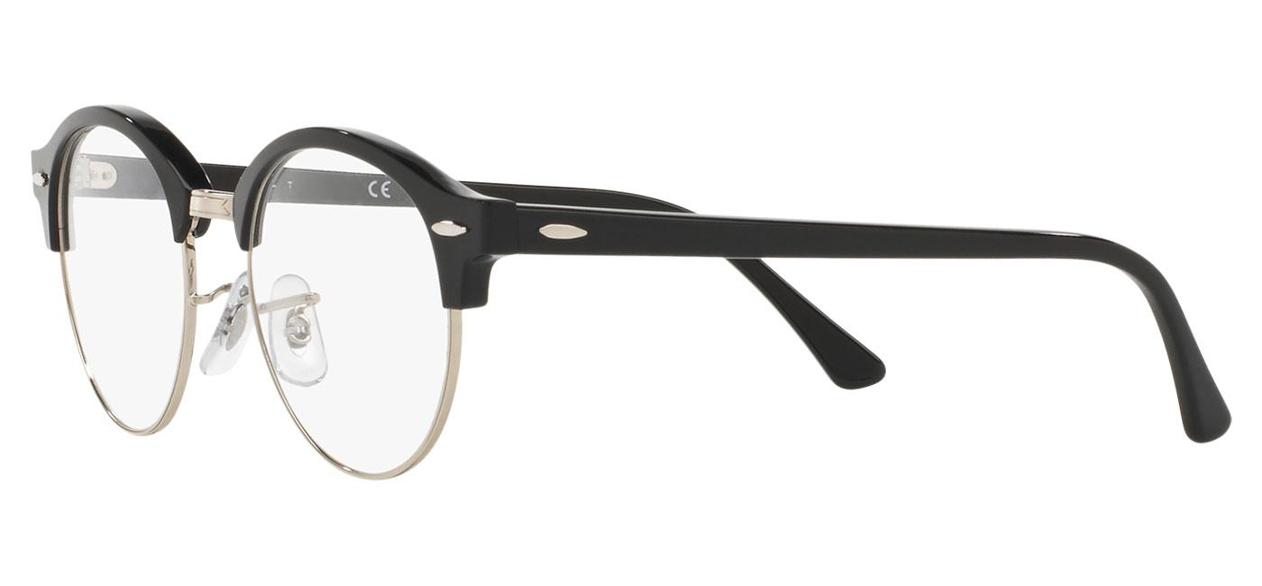 045a25bb1 Ray-Ban RB4246V Clubround Optics Glasses - Shiny Black - Tortoise+Black