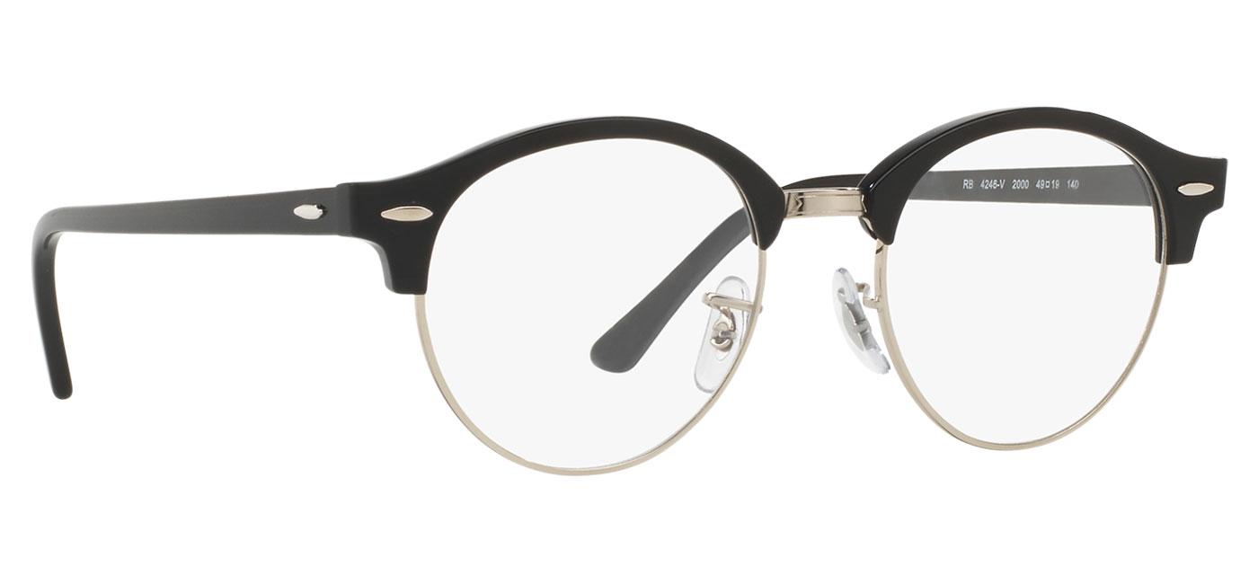 73e6da86a ... Ray-Ban RB4246V Clubround Optics Glasses – Shiny Black. prev. next.  0RX4246V__2000_030A · 0RX4246V__2000_300A · 0RX4246V__2000_330A