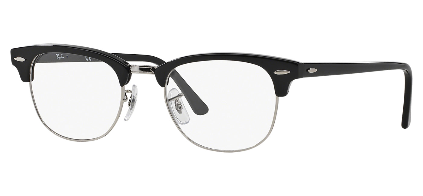 0f17628012 ... Ray-Ban RB5154 Clubmaster Optics Glasses – Shiny Black. prev. next.  0RX5154  2000 030A