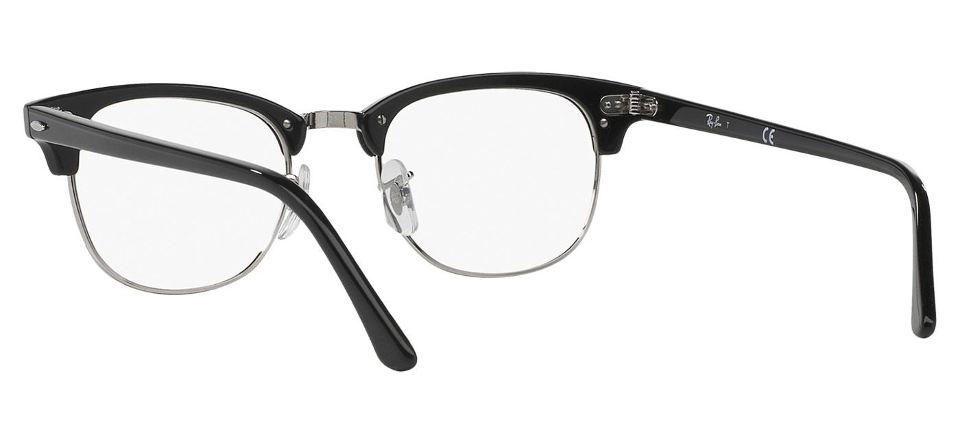 0d1e5e40d4e72 Ray-Ban RB5154 Clubmaster Optics Glasses - Shiny Black - Tortoise+Black