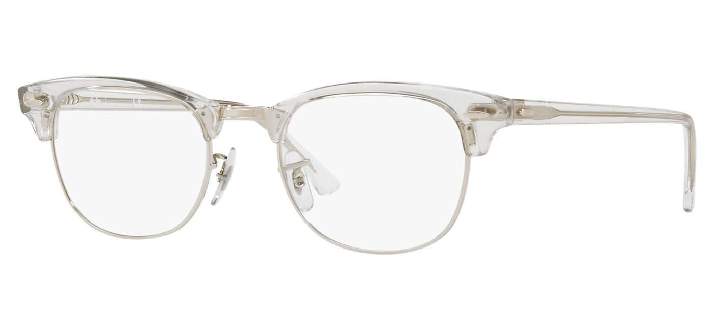 0ef97cd54a ... Ray-Ban RB5154 Clubmaster Optics Glasses – Transparent White. prev.  next. 0RX5154  2001 030A