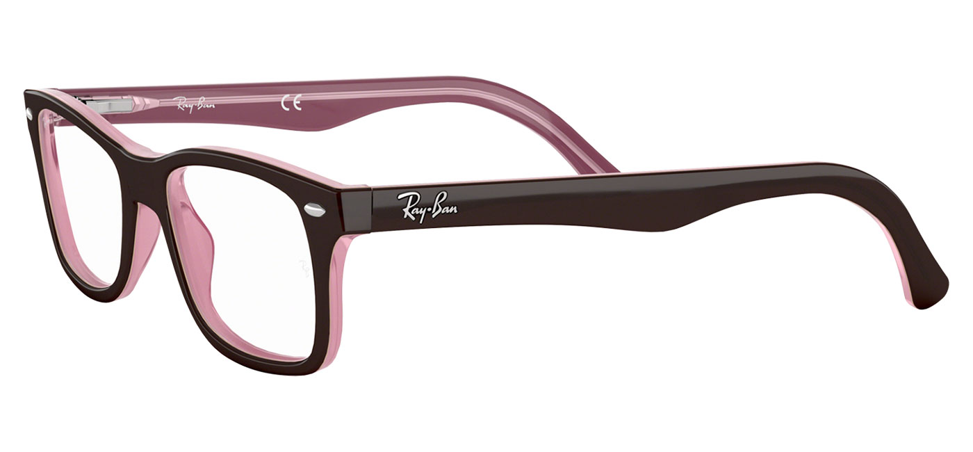 b92c160eda Ray-Ban RB5228 Glasses - Brown   Pink - Tortoise+Black
