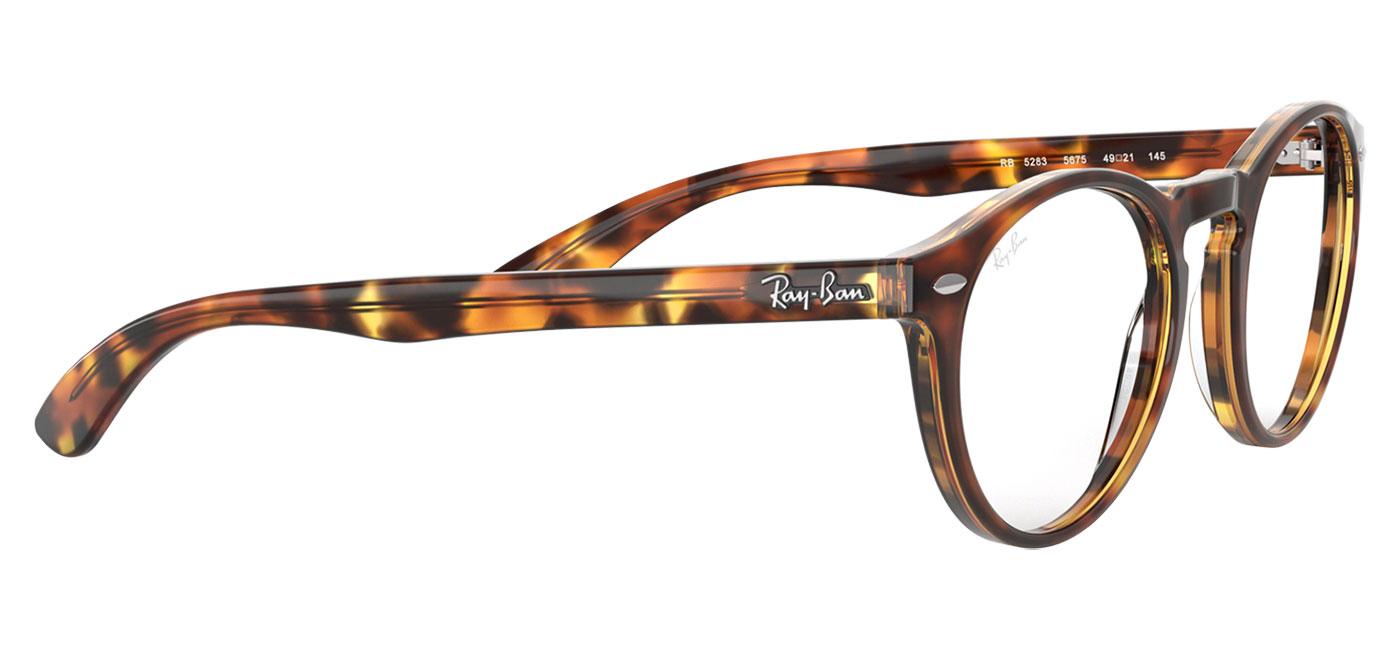 6dfb1bf6b22bc Ray-Ban RB5283 Glasses - Havana - Tortoise+Black