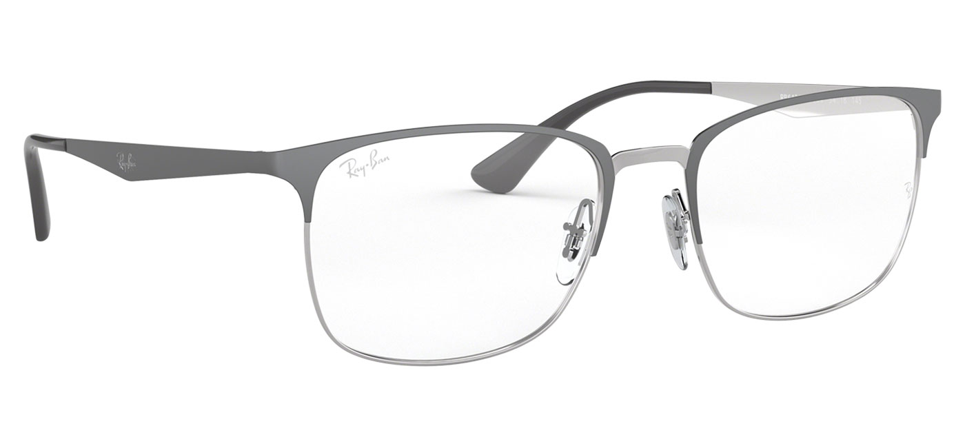 9c8d2c25d4e Ray-Ban RB6421 Glasses - Silver   Grey - Tortoise+Black