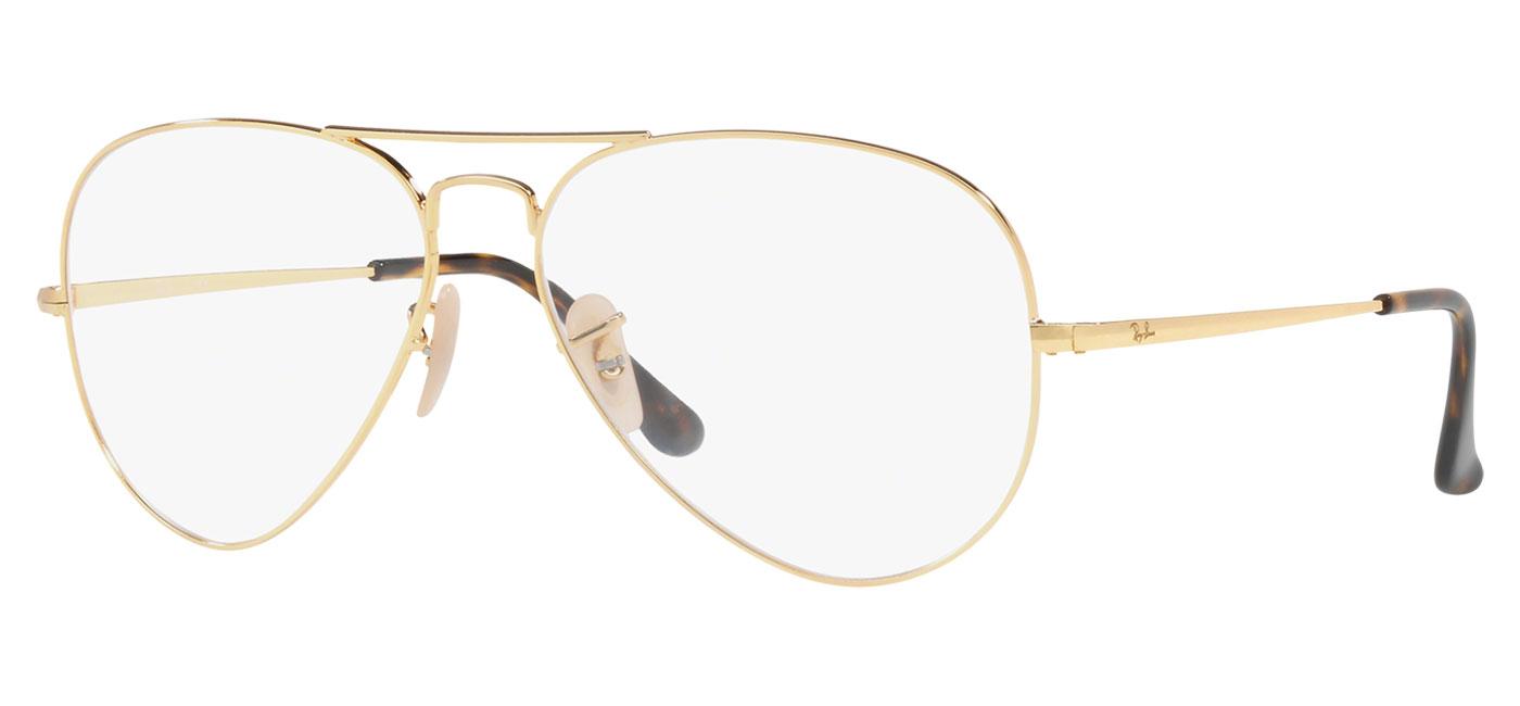 f564149184 ... Ray-Ban RB6489 Aviator Optics Glasses – Gold. prev. next.  0RX6489  2500 030A