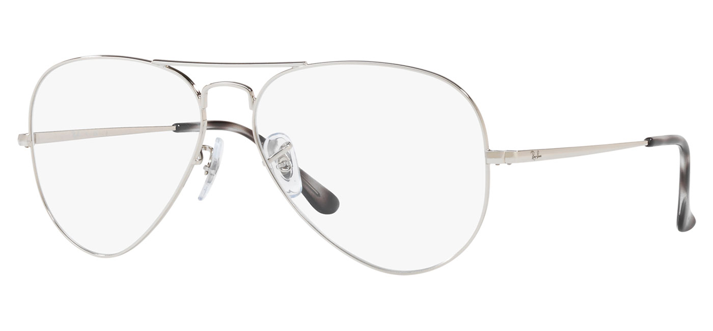 a4637341d ... Ray-Ban RB6489 Aviator Optics Glasses – Silver. prev. next.  0RX6489__2501_030A